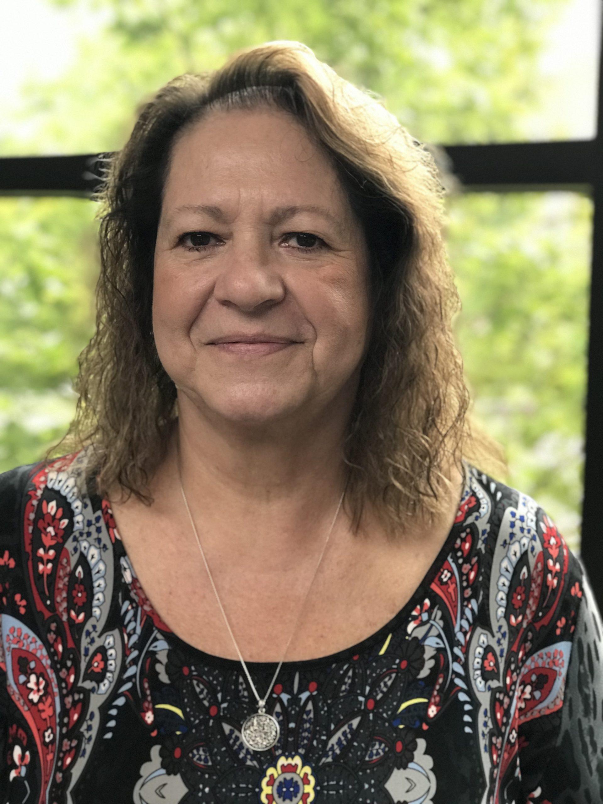 Patient Donna Muhm portrait