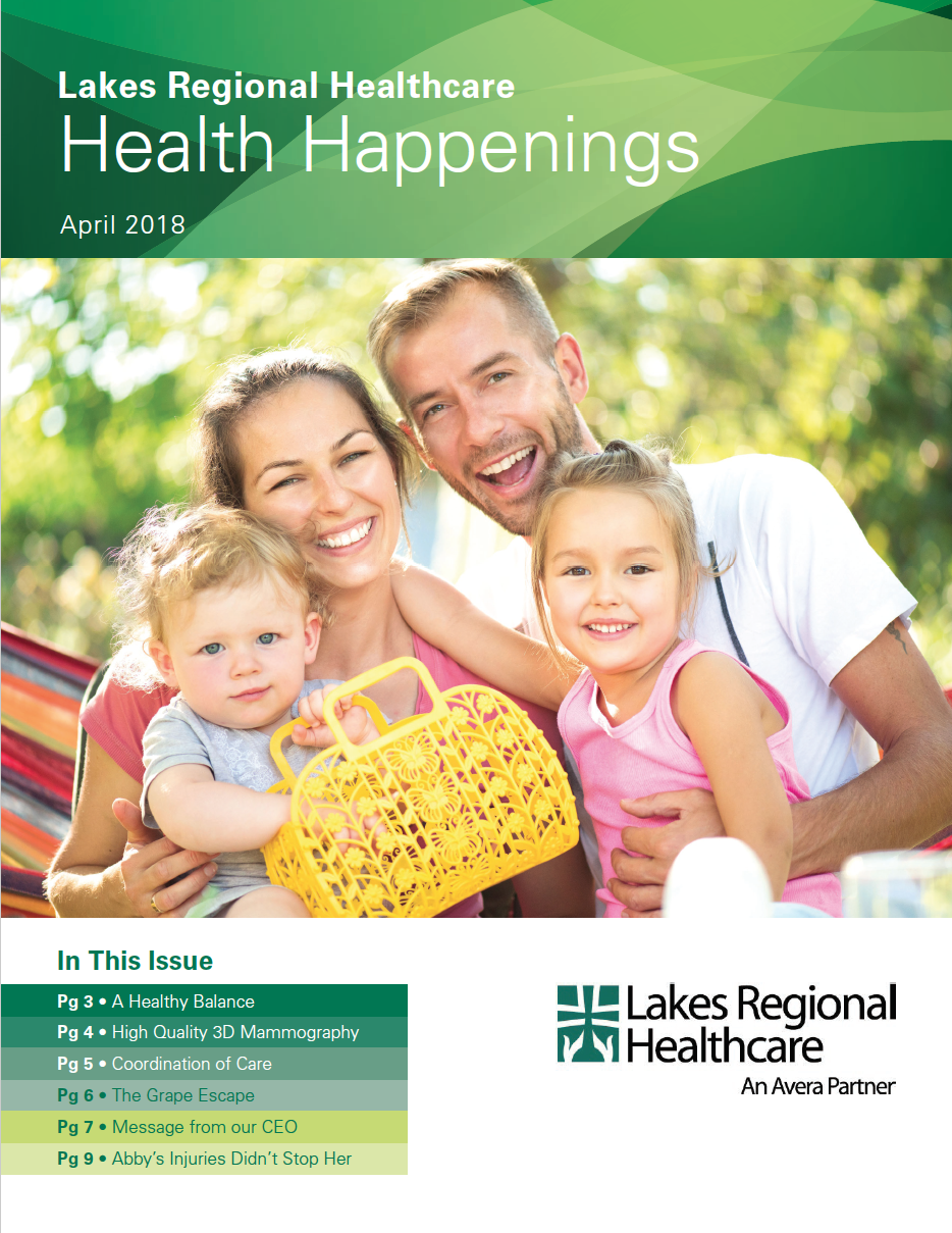 Health Happenings_April 2018