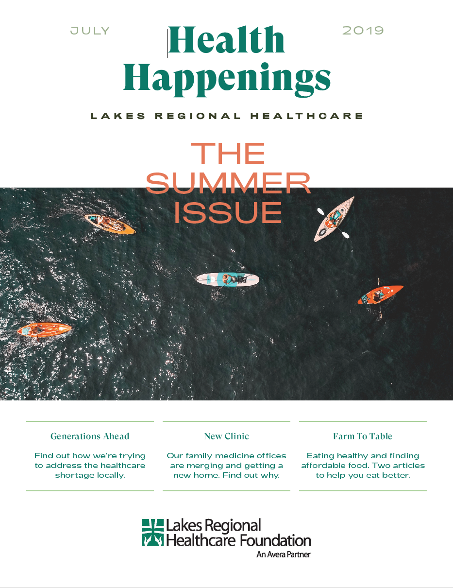Health Happenings_July 2019 cover