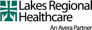 Lakes regional health logo