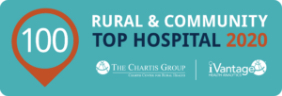 Top 100 Rural and Community Hospital Badge