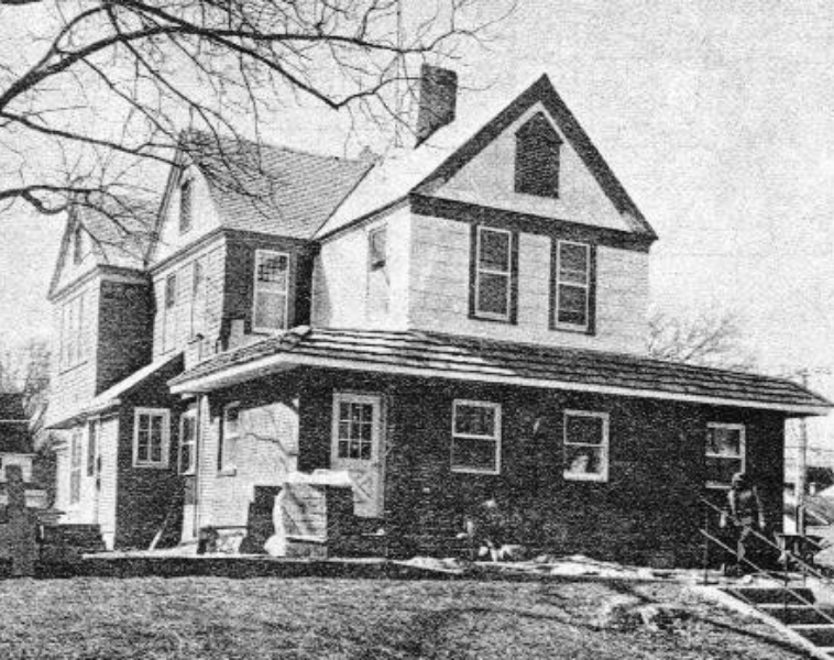 old photo of house