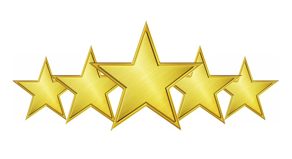 5 gold stars in a row